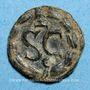 Monnaies Macrin (217-218). Bronze. Antioche sur l'Oronte