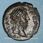 Monnaies Marc Aurèle (161-180). Bronze. Adraa (Arabie), an 70 (= 175-176)