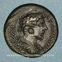 Monnaies Marc-Aurèle (161-180). Bronze. Docimium (Phrygie). R/: Cybèle