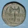 Monnaies Néron, césar sous Claude (50-54). Bronze. Thyatire (Lydie)