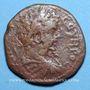 Monnaies Septime Sévère (193-211). Bronze. 25 mm. Marcianopolis (Moésie Inférieure). R/: la Concorde