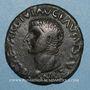 Monnaies Tibère (14-37). As. Ilici (Hispanie).