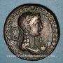 Monnaies Tibère (14-37). Bronze. Oéa (Syrtique), après 22-23