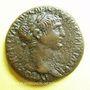 Monnaies Trajan (98-117). Bronze. 25 mm. Laodicée (Syrie), 114-115. R/: buste tourelé de Tyché