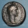 Monnaies Trajan (98-117). Bronze, Sepphoris (Galilée). R/: (légende) dans une couronnes de laurier