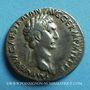 Monnaies Trajan (98-117). Cistophore. Ephèse (Ionie), 98. R/: aigle légionnaire entre deux enseignes