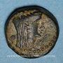 Monnaies Vespasien (69-79). Bronze. Ascalon (Judée), an 176 (= 72/3)