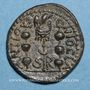 Monnaies Volusien (251-253). Bronze. Antioche de Pisidie