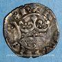 Monnaies Charles IV (1322-1328). Double parisis, 3e émission (24 juillet 1326)