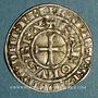 Monnaies Charles IV (1322-1328). Maille blanche, 3 émission (24 juillet 1326)