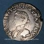 Monnaies Charles IX (1560-1574). 1/2 teston, 1er type, 1563 N. Montpellier