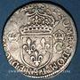 Monnaies Charles IX (1560-1574). 1/2 teston, 1er type, 1569 M. Toulouse