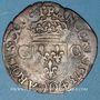 Monnaies Charles IX (1560-1574). Douzain, 2e type, 1573 D. Lyon