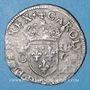 Monnaies Charles IX (1560-1574). Douzain, 3e type, 1573 G. Poitiers