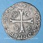 Monnaies Charles IX (1560-1574). Douzain, 3e type, 1573G. Poitiers