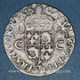 Monnaies Charles IX (1560-1574). Douzain du Dauphiné 1573 Z. Grenoble. 61 200 exemplaires !