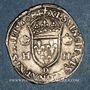 Monnaies Charles IX (1560-1574). Monnayage au nom de Henri II. Teston, 2e type, 1560 D. Lyon