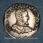 Monnaies Charles IX (1560-1574). Monnayage au nom de Henri II. Teston, 2e type, 1560D. Lyon