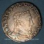 Monnaies Charles IX (1560-1574). Monnayage au nom de Henri II. Teston, 2e type, 1561 M. Toulouse