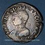 Monnaies Charles IX (1560-1574). Monnayage en son nom. Teston, 3e type, 1564 L. Bayonne