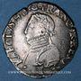 Monnaies Charles IX (1560-1574). Monnayage en son nom. Teston, 3e type, 1568 L. Bayonne