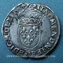 Monnaies Charles IX (1560-1574). Monnayage en son nom. Teston, 4e type, 1562 D. Lyon