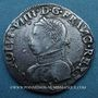 Monnaies Charles IX (1560-1574). Monnayage en son nom. Teston, 4e type, 1562 I. Limoges