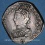 Monnaies Charles IX (1560-1574). Monnayage en son nom. Teston, 4e type, 1566 D. Lyon