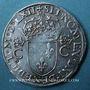 Monnaies Charles IX (1560-1574). Teston, 1er type, 1562 A