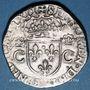 Monnaies Charles IX (1560-1574). Teston, 1er type, 1562 H. La Rochelle