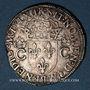Monnaies Charles IX (1560-1574). Teston, 1er type, 1562 M. Toulouse