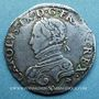 Monnaies Charles IX (1560-1574). Teston, 1er type, 1562 V. (Montauban, Valence ?)