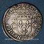 Monnaies Charles IX (1560-1574). Teston, 1er type, 1563 M. Toulouse