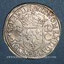 Monnaies Charles IX (1560-1574). Teston 1er type. 1563 M. Toulouse