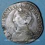 Monnaies Charles IX (1560-1574). Teston, 1er type. 1564H. La Rochelle