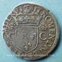 Monnaies Charles IX (1560-1574). Teston, 1er type. 1566 K. Bordeaux