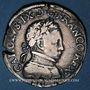 Monnaies Charles IX (1560-1574). Teston, 6e type dit teston morveux, frappé par les Huguenots 1562. Orléans