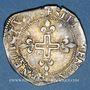 Monnaies Charles IX (1560-74). Double sol parisis, 1er type, 157(...)R. Saint-André de Villeneuve-les-Avignon