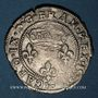 Monnaies Charles IX (1560-74). Double sol parisis, 1er type, 1571K. Bordeaux