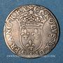 Monnaies Charles IX (1560-74). Sol parisis 1565 G. Poitiers
