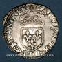 Monnaies Charles IX (1560-74). Sol parisis 1567 M et point 5e. Toulouse