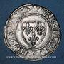 Monnaies Charles VI (1380-1422). Blanc dit Guénar à l'O rond, 2e émission (1389). Dijon ou Châlon