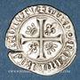 Monnaies Charles VI (1380-1422). Blanc guénar à l'O rond, 2e émission (1389). Mâcon