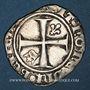 Monnaies Charles VI (1380-1422). Demi-guénar, émission. Limoges (point 10e)