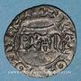 Monnaies Charles VI (1380-1422). Denier parisis, 2e émission, (11 septembre 1389)