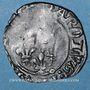 Monnaies Charles VI (1380-1422). Gros dit florette 1ère émission (10.5.1417). Troyes (annelet 8e)