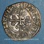 Monnaies Charles VI (1380-1422). Gros dit florette, 2e émission (1417). Paris