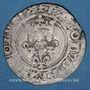 Monnaies Charles VI (1380-1422). Gros dit florette, 2e émission (1417)