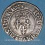 Monnaies Charles VI (1380-1422). Gros dit florette, 5e émission (2.7.1419)