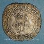 Monnaies Charles VI (1380-1422). Monnayage du dauphin Charles. Florette, 2e émission (1419). Villefranche